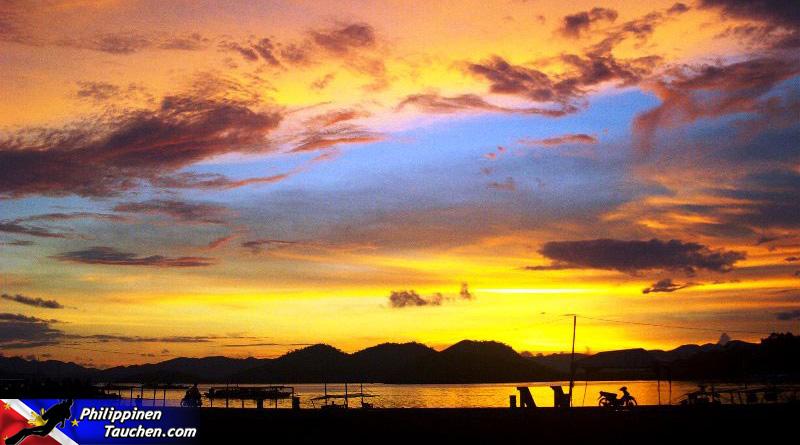 Coron Sonnenuntergang