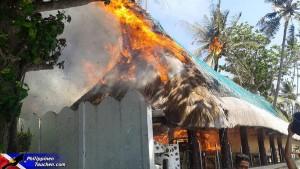 Feuer in Dauin