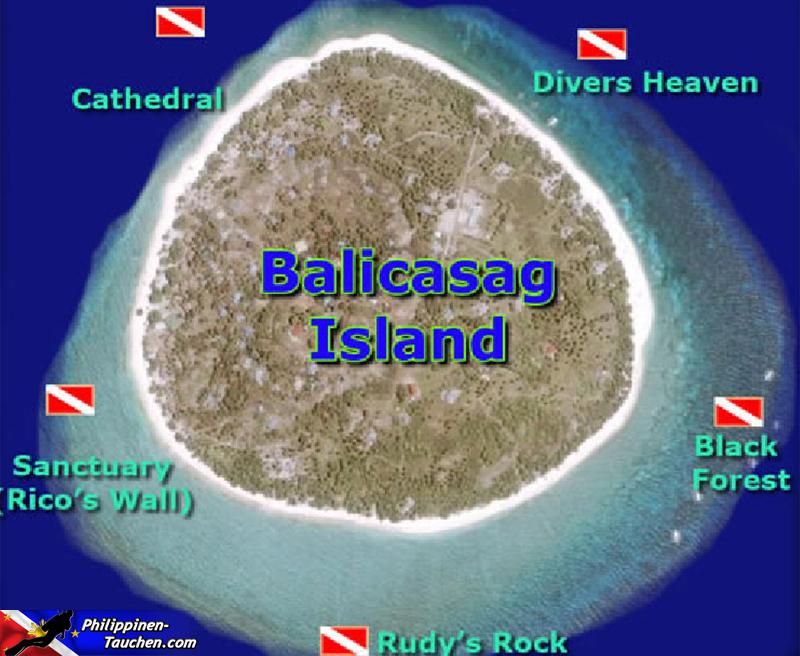 Tauchplätze in Balicasag
